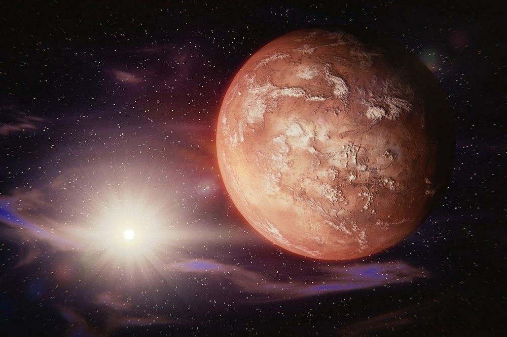 Gigantische stoftorens op Mars